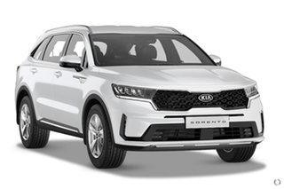 2020 Kia Sorento MQ4 MY21 S AWD White 8 Speed Sports Automatic Dual Clutch Wagon