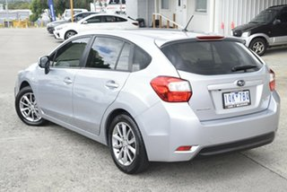 2015 Subaru Impreza G4 MY14 2.0i AWD Silver 6 Speed Manual Hatchback
