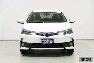 2017 Toyota Corolla ZRE172R MY17 SX White 7 Speed CVT Auto Sequential Sedan.