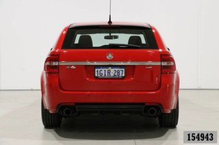 2017 Holden Commodore VF II MY17 SV6 Red 6 Speed Automatic Sportswagon