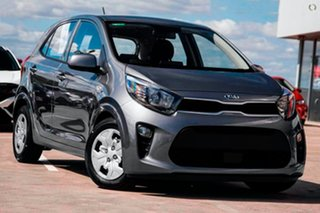 2020 Kia Picanto JA MY21 S Grey 4 Speed Automatic Hatchback.