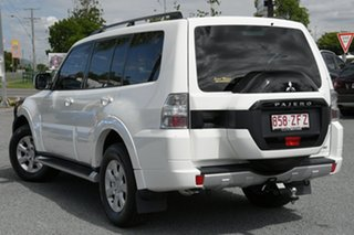 2015 Mitsubishi Pajero NX MY15 GLX White 5 Speed Sports Automatic Wagon.