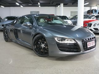 2010 Audi R8 MY10 Quattro Grey 6 Speed Sports Automatic Single Clutch Coupe.