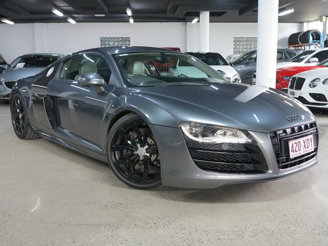 Used Audi R8 MY10 Quattro Albion, 2010 Audi R8 MY10 Quattro Grey 6 Speed Sports Automatic Single Clutch Coupe