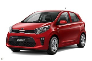 2020 Kia Picanto JA MY21 S Red 4 Speed Automatic Hatchback