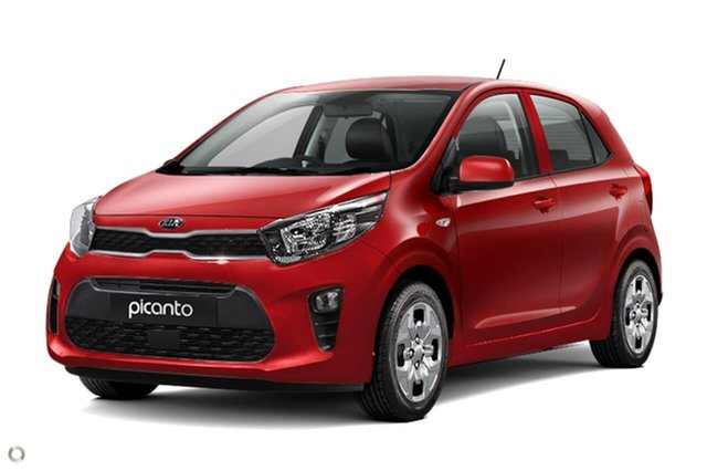 New Kia Picanto JA MY21 S Reynella, 2020 Kia Picanto JA MY21 S Red 4 Speed Automatic Hatchback