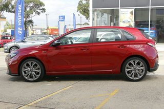 2021 Hyundai i30 PD.V4 MY21 N Line D-CT Premium Red 7 Speed Sports Automatic Dual Clutch Hatchback