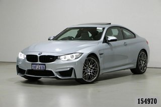 2016 BMW M4 F82 LCI MY17 Competition Silver 7 Speed Auto Dual Clutch Coupe.