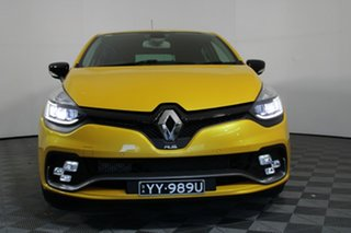 2017 Renault Clio IV B98 Phase 2 R.S. 200 EDC Cup Yellow 6 Speed Sports Automatic Dual Clutch.