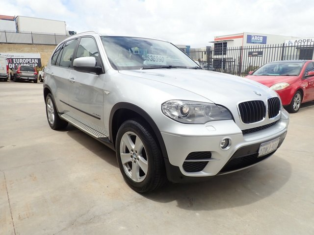 Used BMW X5 E70 MY12 Upgrade xDrive30d Wangara, 2012 BMW X5 E70 MY12 Upgrade xDrive30d Silver Mist 8 Speed Automatic Sequential Wagon