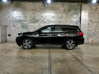 2017 Nissan Pathfinder R52 Series II MY17 Ti X-tronic 4WD Black 1 Speed Constant Variable Wagon