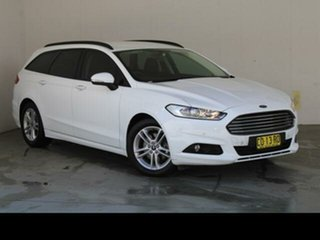 2017 Ford Mondeo MD Facelift Ambiente TDCi Frozen White 6 Speed Automatic Wagon