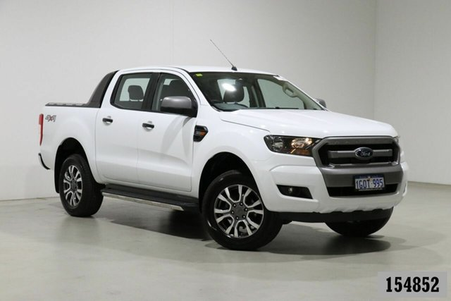 Used Ford Ranger PX MkII MY18 XLS 3.2 (4x4) Bentley, 2018 Ford Ranger PX MkII MY18 XLS 3.2 (4x4) White 6 Speed Manual Double Cab Pick Up