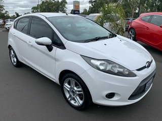 2012 Ford Fiesta WT CL PwrShift White 6 Speed Sports Automatic Dual Clutch Hatchback