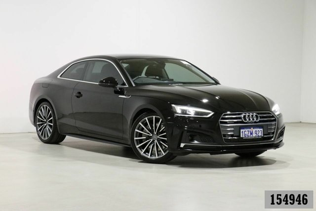 Used Audi A5 F5 MY19 45 TFSI Quattro S Tronic Sport Bentley, 2019 Audi A5 F5 MY19 45 TFSI Quattro S Tronic Sport Black 7 Speed Auto Dual Clutch Coupe
