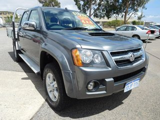 2010 Holden Colorado RC MY10.5 LT-R Crew Cab Grey 4 Speed Automatic Utility