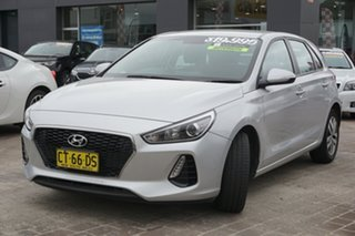 2017 Hyundai i30 GD4 SERIES II M Active Platinum Silver 6 Speed Sports Automatic Hatchback