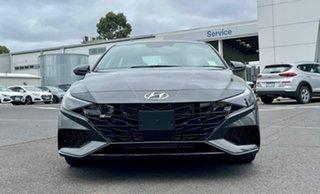 2020 Hyundai i30 CN7.V1 MY21 N Line Premium Iron Grey 7 Speed Auto Dual Clutch Sedan.