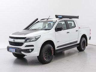 2017 Holden Colorado RG MY17 Z71 (4x4) White 6 Speed Manual Crew Cab Pickup.
