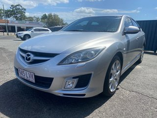 2008 Mazda 6 GH1051 Luxury Sports Silver 5 Speed Sports Automatic Hatchback