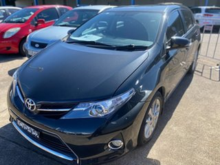 2014 Toyota Corolla ZRE182R Ascent Sport Black 6 Speed Manual Hatchback.