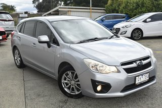 2015 Subaru Impreza G4 MY14 2.0i AWD Silver 6 Speed Manual Hatchback.