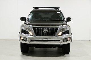 2014 Toyota Landcruiser Prado KDJ150R MY14 Altitude (4x4) Black 5 Speed Sequential Auto Wagon.