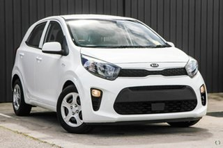 2020 Kia Picanto JA MY20 S White 4 Speed Automatic Hatchback.