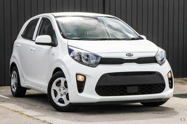 Demo Kia Picanto JA MY20 S Reynella, 2020 Kia Picanto JA MY20 S White 4 Speed Automatic Hatchback