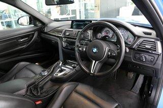 2017 BMW M3 F80 LCI Competition M-DCT Blue 7 Speed Sports Automatic Dual Clutch Sedan.