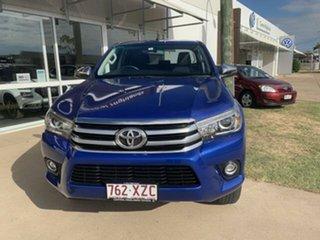 2018 Toyota Hilux GUN126R MY17 SR5 (4x4) 6 Speed Manual Dual Cab Utility