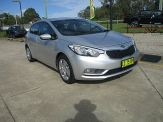 2013 Kia Cerato TD MY13 S Silver 6 Speed Sports Automatic Hatchback.