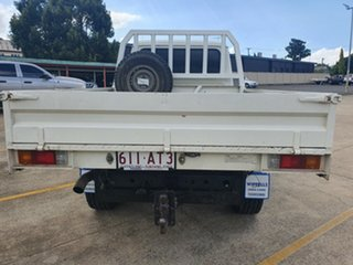 2012 Toyota Landcruiser VDJ79R MY10 Workmate White 5 Speed Manual Cab Chassis