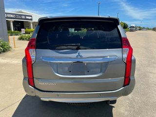 2018 Mitsubishi Pajero Sport QE MY18 Exceed Grey/290618 8 Speed Sports Automatic Wagon