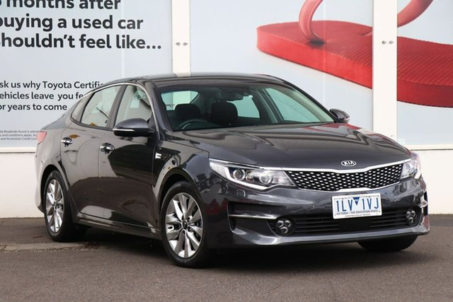 Pre-Owned Kia Optima JF MY18 SI Ferntree Gully, 2017 Kia Optima JF MY18 SI Grey 6 Speed Sports Automatic Sedan