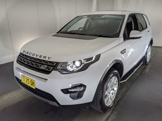 2015 Land Rover Discovery Sport L550 16.5MY SE White 9 Speed Sports Automatic Wagon