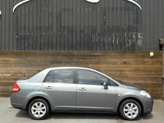 2006 Nissan Tiida C11 ST Grey 4 Speed Automatic Sedan.
