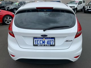 2012 Ford Fiesta WT CL PwrShift White 6 Speed Sports Automatic Dual Clutch Hatchback.