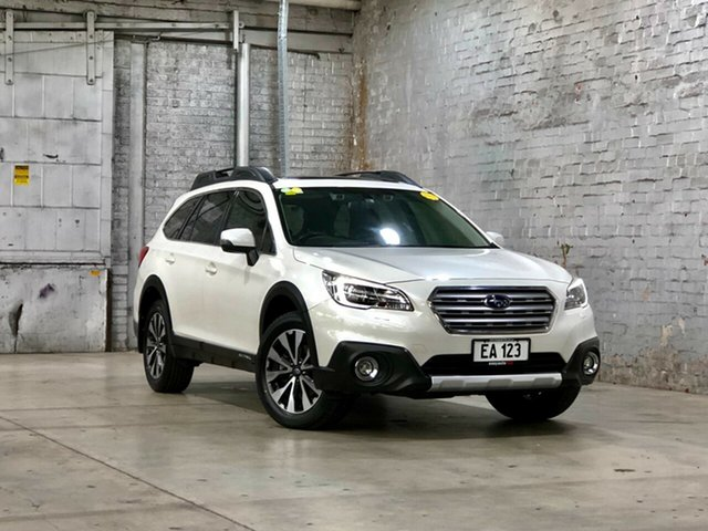 Used Subaru Outback B6A MY17 2.5i CVT AWD Premium Mile End South, 2017 Subaru Outback B6A MY17 2.5i CVT AWD Premium White 6 Speed Constant Variable Wagon