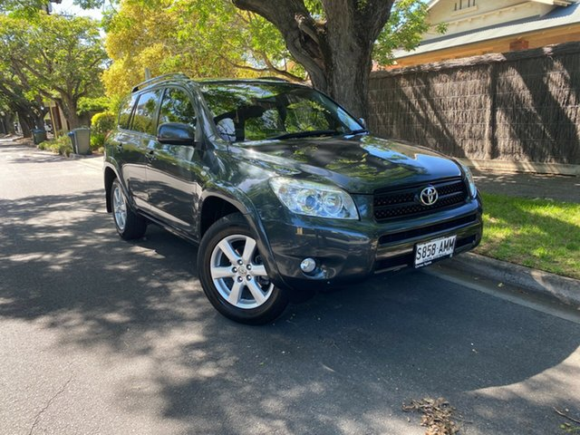 Used Toyota RAV4 ACA33R MY08 Cruiser Hawthorn, 2008 Toyota RAV4 ACA33R MY08 Cruiser Grey 4 Speed Automatic Wagon