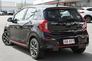 2020 Kia Picanto JA MY21 GT-Line Aurora Black 4 Speed Automatic Hatchback.
