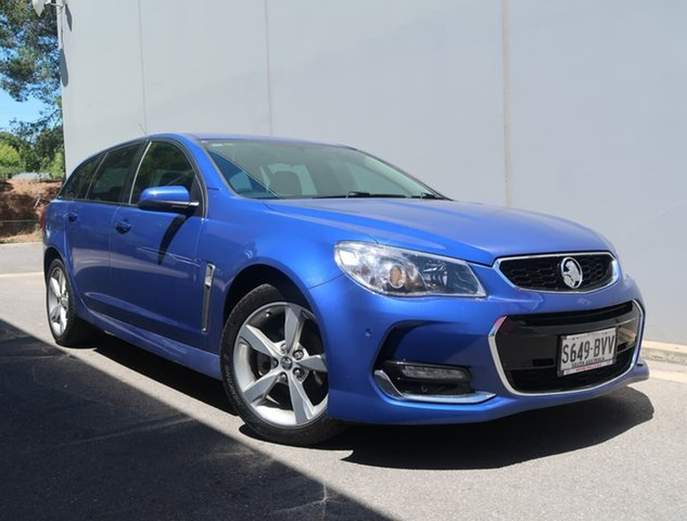 Used Holden Commodore VF II MY16 SV6 Sportwagon Reynella, 2016 Holden Commodore VF II MY16 SV6 Sportwagon Blue 6 Speed Sports Automatic Wagon