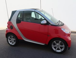 2009 Smart ForTwo 451 MY09 pulse Softip Red 5 Speed Seq Manual Auto-Clutch Cabriolet