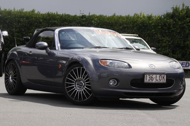 Used Mazda MX-5 NC30F1 Limited Edition Mount Gravatt, 2005 Mazda MX-5 NC30F1 Limited Edition Grey 6 Speed Manual Softtop