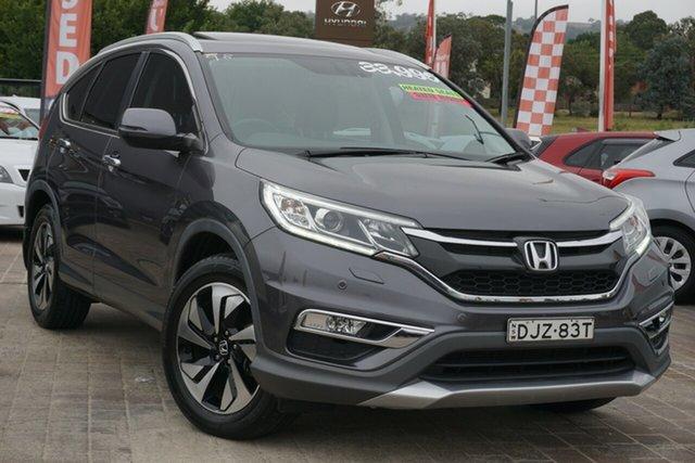 Used Honda CR-V RM Series II MY17 VTi-L Phillip, 2016 Honda CR-V RM Series II MY17 VTi-L Silver 5 Speed Sports Automatic Wagon