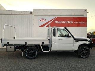 2021 Mahindra Pik-Up S6+ 4x4 White 6 Speed Manual Utility.