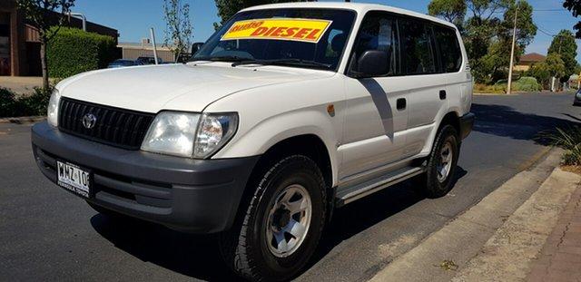 Used Toyota Landcruiser Prado KZJ95R RV (4x4) Prospect, 2000 Toyota Landcruiser Prado KZJ95R RV (4x4) White 5 Speed Manual 4x4 Wagon