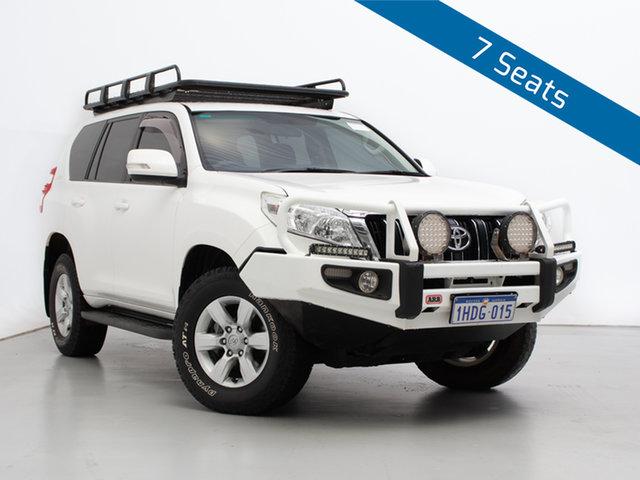 Used Toyota Landcruiser Prado KDJ150R MY14 GXL (4x4), 2014 Toyota Landcruiser Prado KDJ150R MY14 GXL (4x4) White 5 Speed Sequential Auto Wagon