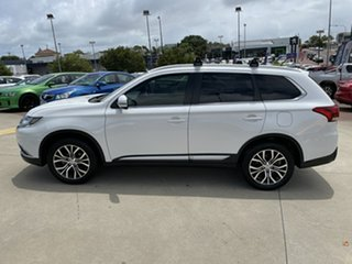 2016 Mitsubishi Outlander ZK MY16 XLS (4x2) White Continuous Variable Wagon