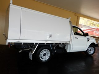 2013 Ford Ranger PX XL 2.2 (4x2) White 6 Speed Manual Cab Chassis